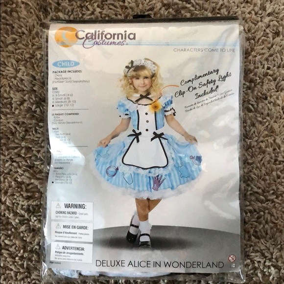 Other - Deluxe Alice in Wonderland size Large 10/12